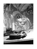 Film Noir, 7000 Clams Colt Giclée-Druck von Richie Fahey
