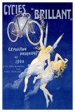 Bicicletas Brilliant Lámina giclée por Henri Gray