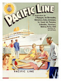 Pacific Line, Caribbean Cruise Giclee Print