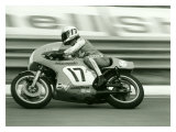 GP Motorcycle Giclee Print by Giovanni Perrone
