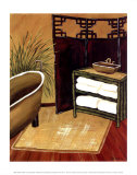 Bamboo Bath Prints by Krista Sewell