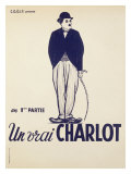 Charlie Chaplin Impression giclée
