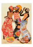 Jubilation Poster by Keith Mallett