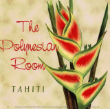 Polynesian Room Prints by Paula Scaletta