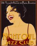 Nite Owl Poster autor Poto Leifi