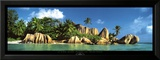La Digue Island, Seychelles, Indian Ocean Prints by K.H. Hanel