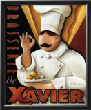 Brasserie de Xavier Poster by Michael L. Kungl