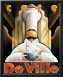 Cafe de Ville Posters by Michael L. Kungl