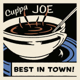 Cup'pa Joe Best in Town Prints