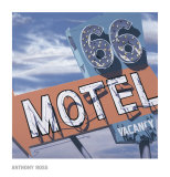 66 Motel Kunst af Anthony Ross