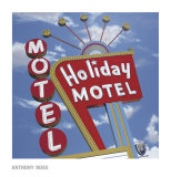 Holiday Motel Prints by Anthony Ross