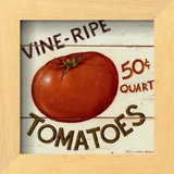 Vine Ripe Tomatoes Prints by David Carter Brown