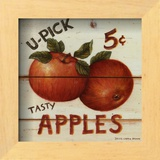 U-Pick Apples Art by David Carter Brown