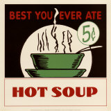 Hot Soup Prints