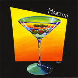 Martini Prints by Naylor Mary