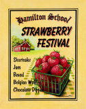 Strawberry Festival Posters af Catherine Jones
