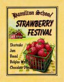 Festival delle fragole Poster di Catherine Jones