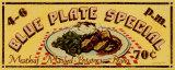 Catherine Jones - Blue Plate Special Umění