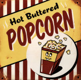 Popcorn Poster by Matthew Labutte