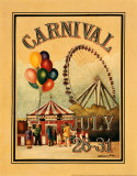 Carnival Posters by Catherine Jones