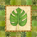 Tropical Leaf IV Print by Charlene Audrey