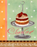 Mint Chocolate Prints by Pamela Gladding