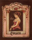 Corsets II Poster by Kimberly Poloson