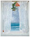 Open Curtains Poster par Lynn Fecteau