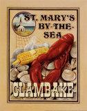 Clam Bake Plakater af Catherine Jones