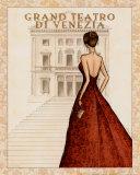 Teatro Poster by Andrea Laliberte
