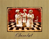 Three Chefs Posters af Gregory Gorham