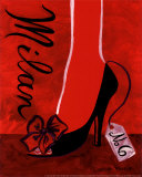 High Heels Milan Poster by Jennifer Matla