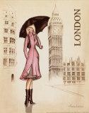London Kunst af Andrea Laliberte