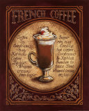 Caf&#233; fran&#231;ais Affiches par Gregory Gorham