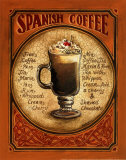Spanish Coffee Plakater af Gregory Gorham