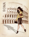 Roma Psters por Andrea Laliberte
