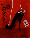 High Heels Paris Prints by Matla Jennifer