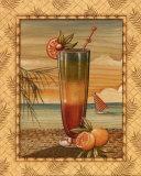 Island Nectar II Print by Charlene Audrey