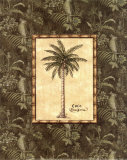 Vintage Palm III Prints by Charlene Audrey