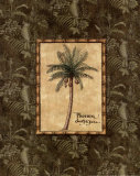 Vintage Palm II Print by Charlene Audrey