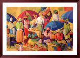 Market Day Prints by V. Comissong