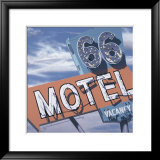 66 Motel Posters by Anthony Ross