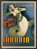 Irradio, 1939 Prints by Gino Boccasile