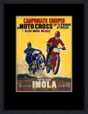 Moto Club Imola Motocross Prints by Pozzi