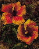 Hibiscus I Posters by John Seba