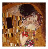 接吻, 1907(詳細) 高画質プリント : グスタフ・クリムト
