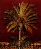 Canary Palm Print by Rodolfo Jimenez