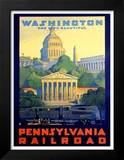 Pennsylvania Railroad, Washington Posters by Grif Teller