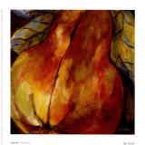 Juicy Pear Prints by Nicole Etienne