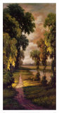Tranquility Path I Print by Pierre-Auguste Renoir